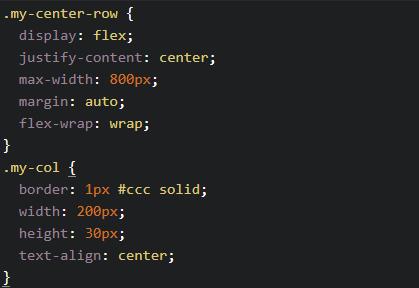 CSS flex justify content